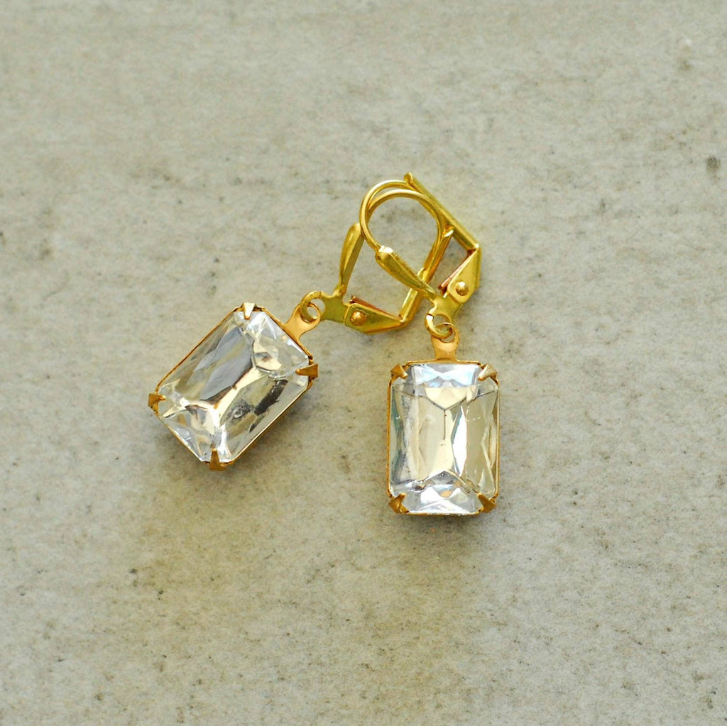 Vintage Plain and Simple Earrings