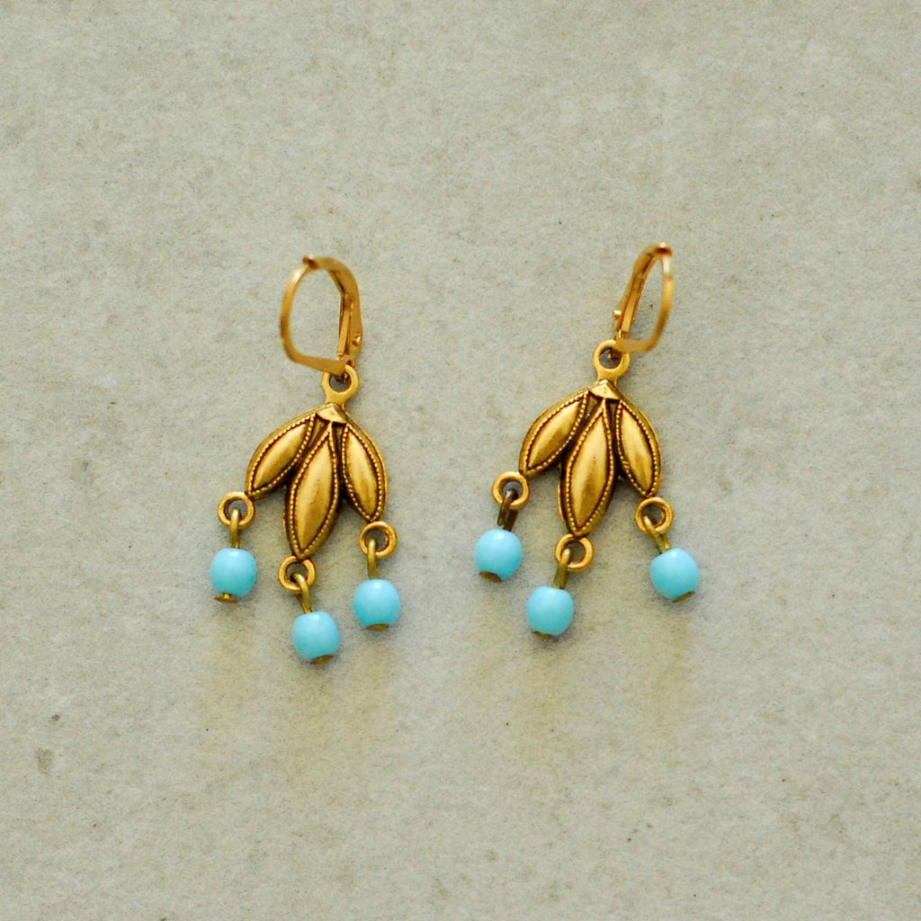 Gold Turk Cha Cha Earrings