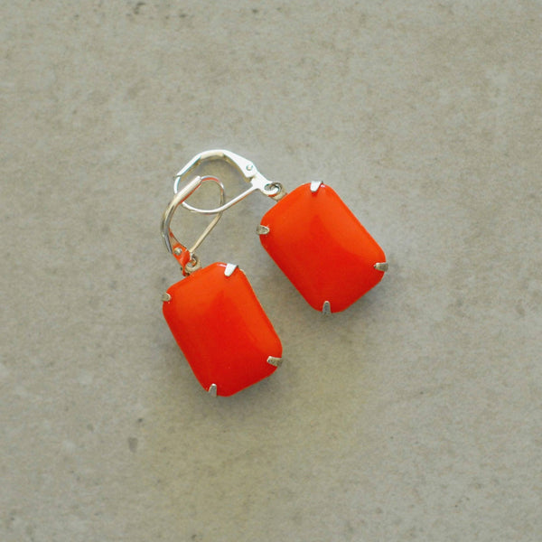 Vintage Orangette Earrings