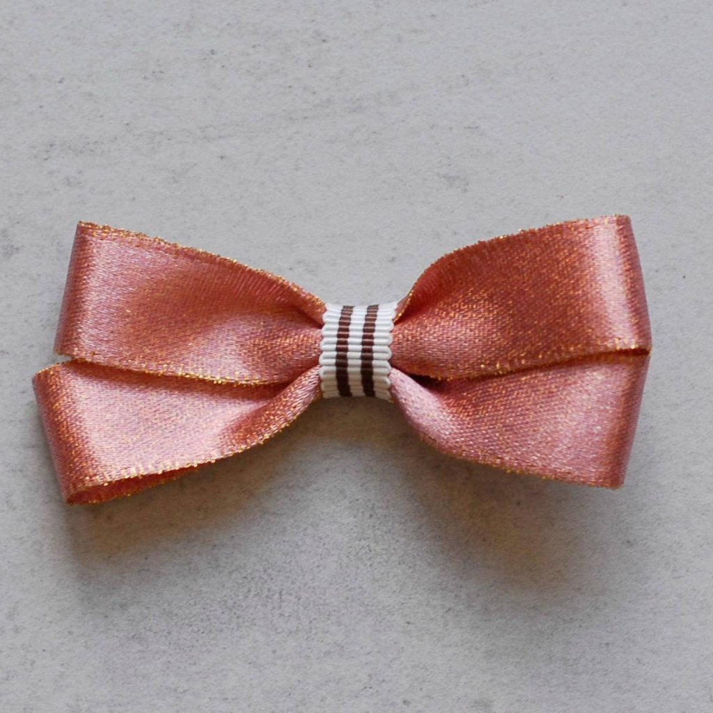 Rosy Goldy Bow