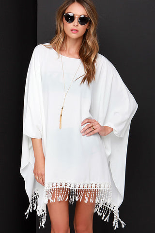LuLu*s Chic Ivory Cover-Up