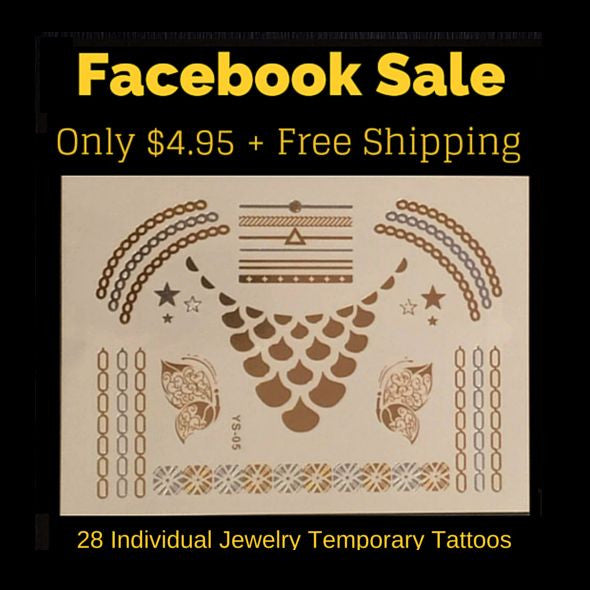 Facebook Sale + Free Shipping