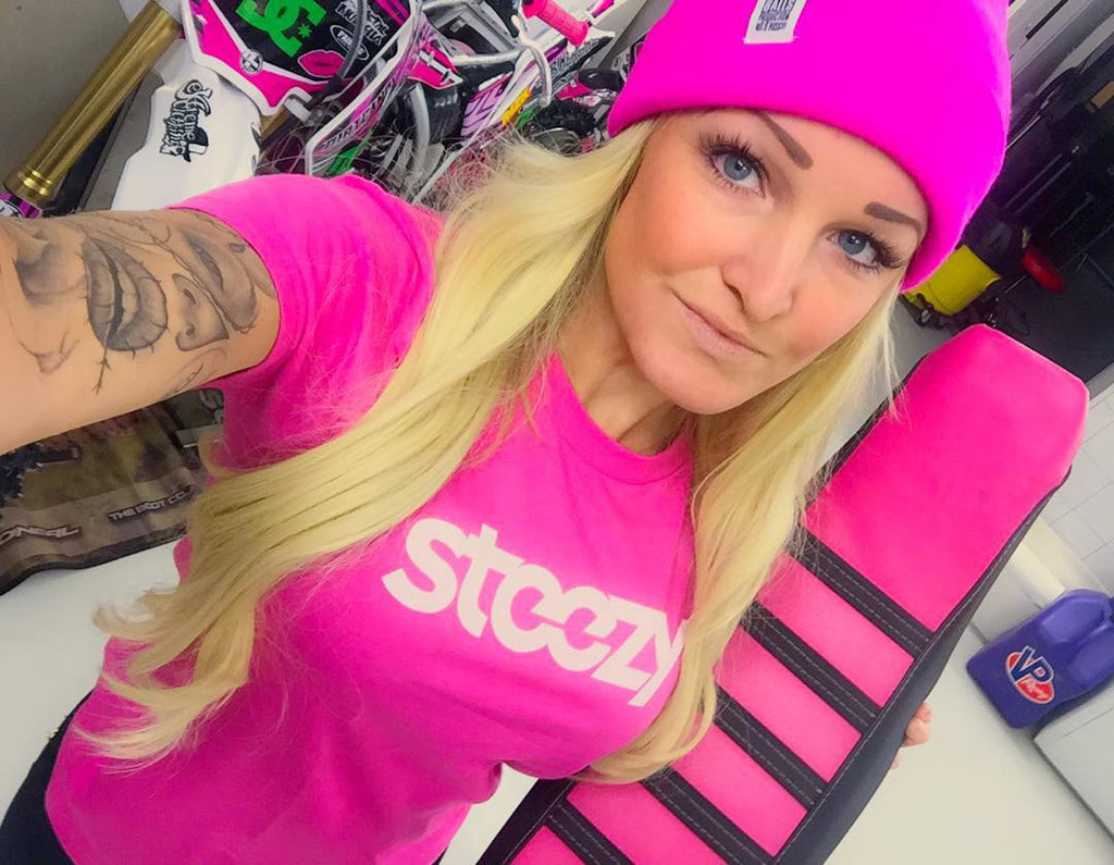 Team Steezy Rider Jennie Hallestam