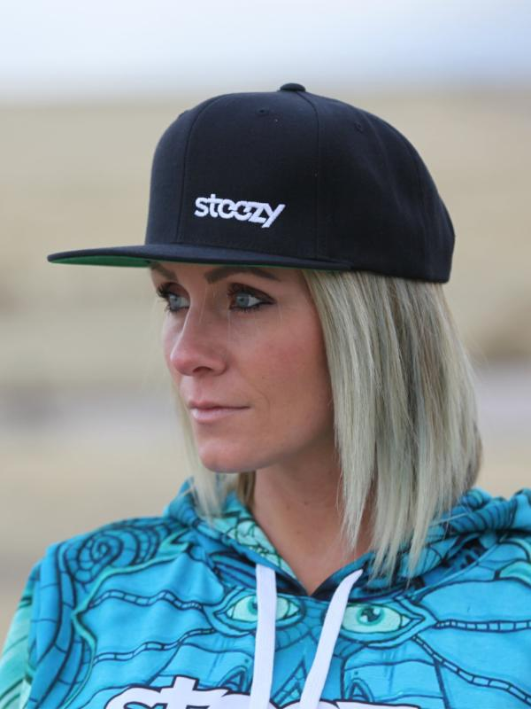 Steezy Small Logo Snapback Hat - STEEZY