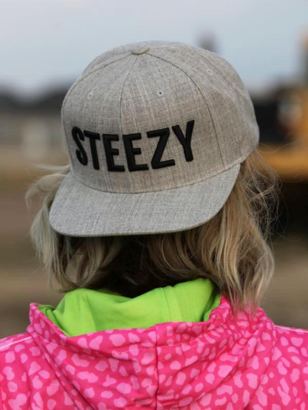 Straight Steezy Heather Snapback - STEEZY