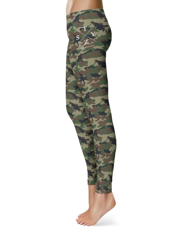 X Camo Leggings - STEEZY