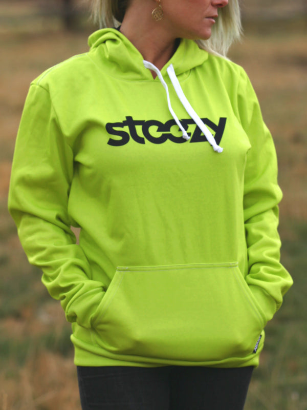 Lime Steezy Hoodie - STEEZY