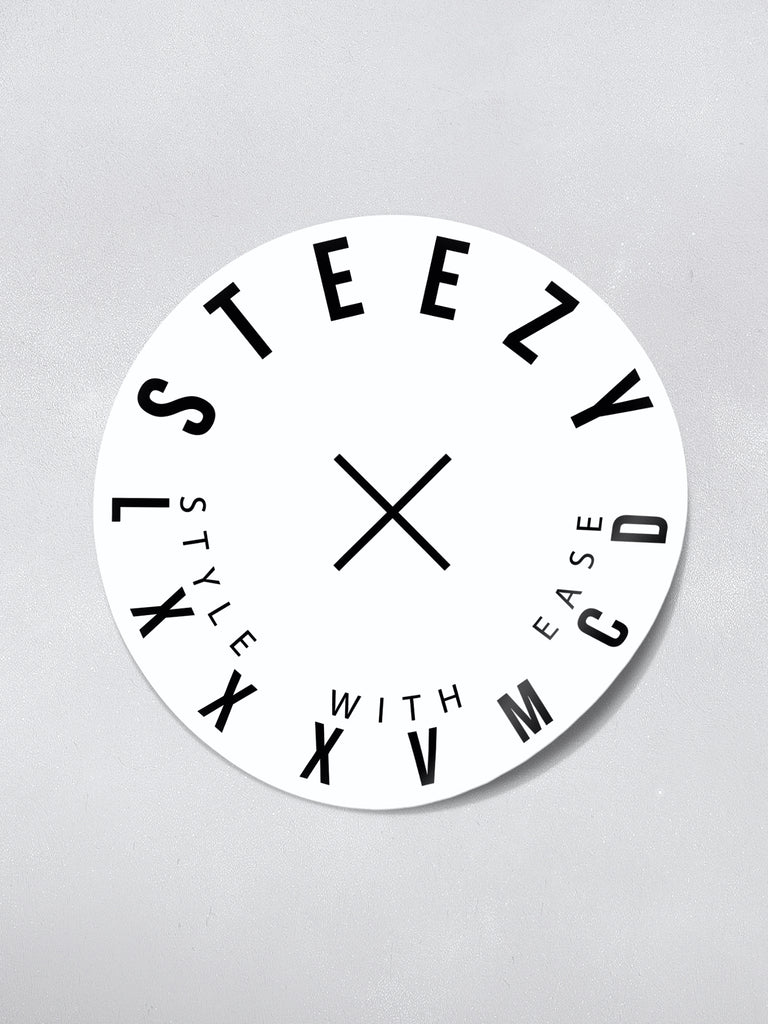 Steezy Day Sticker - STEEZY