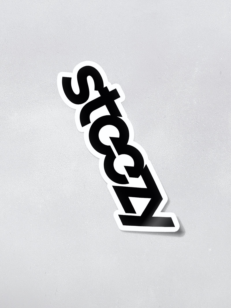 Small Steezy Logo Sticker - STEEZY