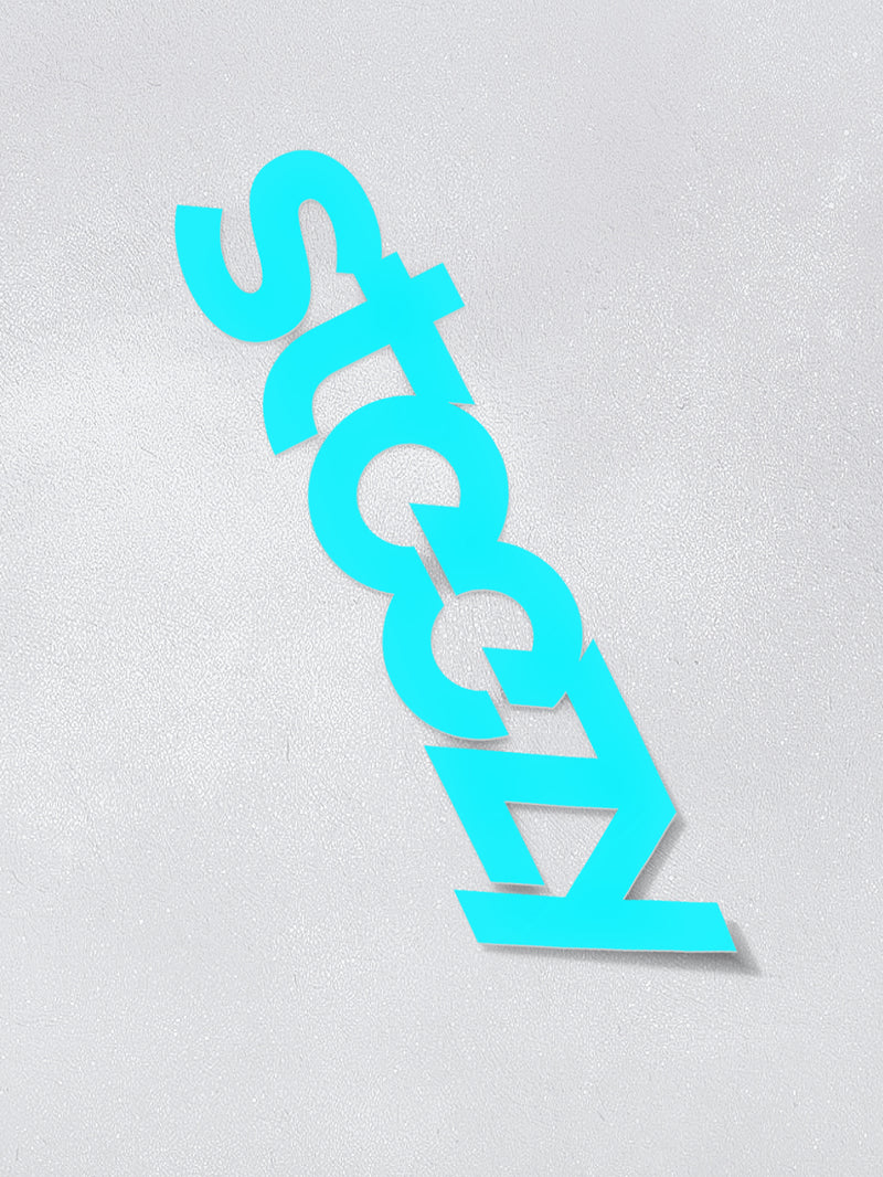"Teal 12 Inch Vinyl ""Steezy"" Sticker - STEEZY"