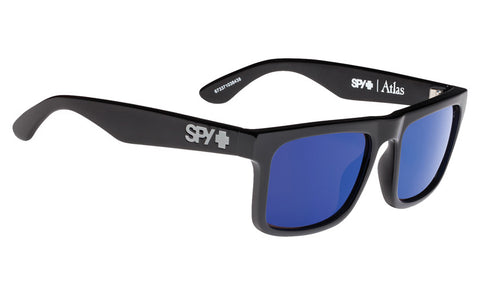 SPY ATLAS BLACK HAPPY BRONZE POLAR W/ DARK BLUE SPECTRA