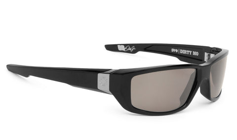 SPY DIRTY MO BLACK HAPPY BRONZE POLARIZED W/ BLACK MIRROR