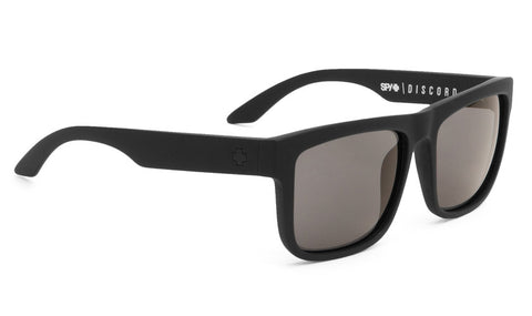 SPY DISCORD MATTE BLACK GREY POLARIZED