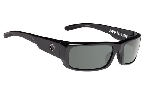 SPY CALIBER BLACK HAPPY GREY GREEN