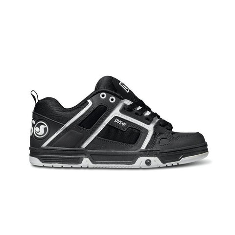 DVS Mens Comache Black Black White Gunny Shoe