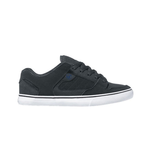 DVS Mens Miltia CT Black Black Gray Nubuck Shoe