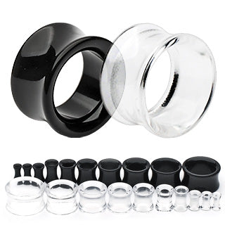 Hollow Saddle Acrylic Tunnels
