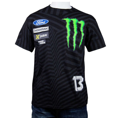 Hoonigan Mens Andreas Bakkerud Official 2016 T Shirt Black