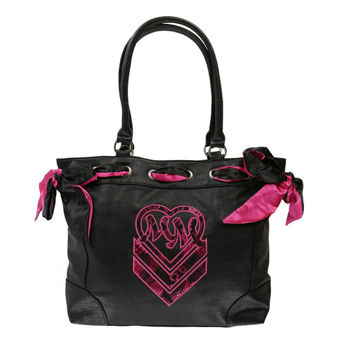 Metal Mulisha Womens Beloved Purse Black One Size