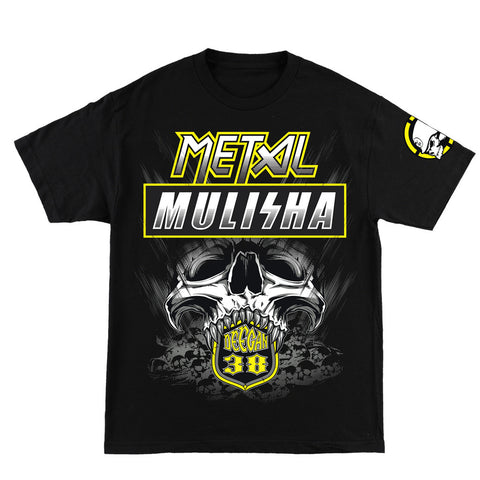 Metal Mulisha Mens Deegan Blast T Shirt Black