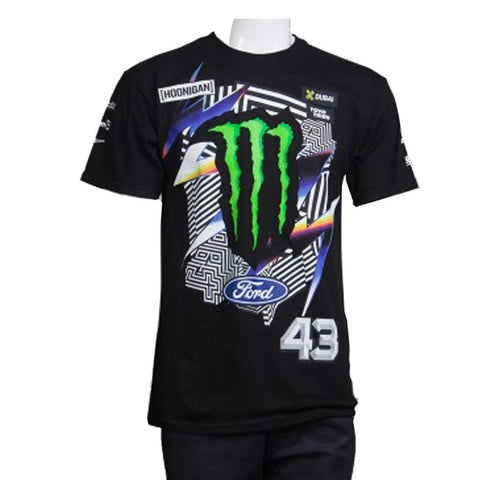Hoonigan Mens Ken Block Official 2016 T Shirt Black