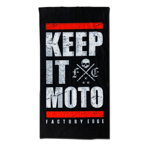 Factory Edge Keep It Moto Face Mask/Neck Gaiter