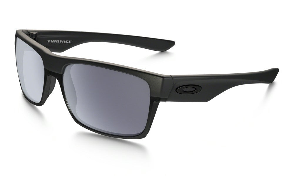 c96b60161d5 Oakley Twoface Machinist Matte Black Chrome Iridium