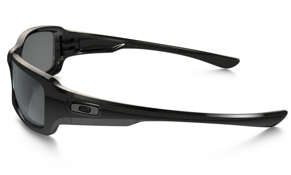 Oakley Fives Squared Polished Black Black Iridium Polarized ... f2e6bff969