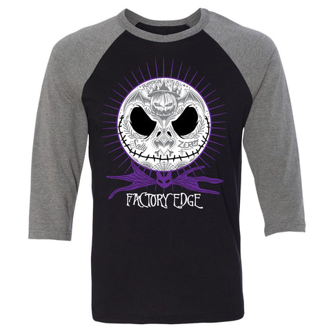 Factory Edge Womens Nightmare Raglan Charcoal/Black