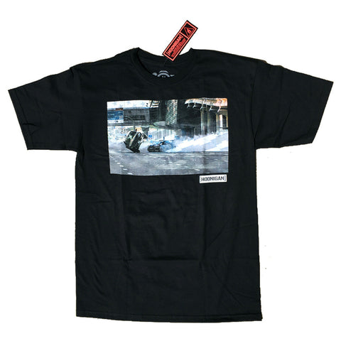 Hoonigan Mens Gymkhana 8 Photo T Shirt Black