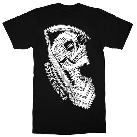 Factory Edge Mens Till Death T Shirt Black