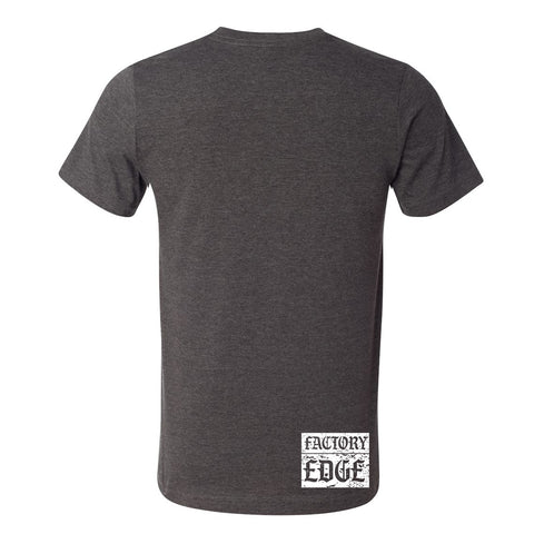 Factory Edge Mens Turbo Reaper T Shirt Charcoal Heather