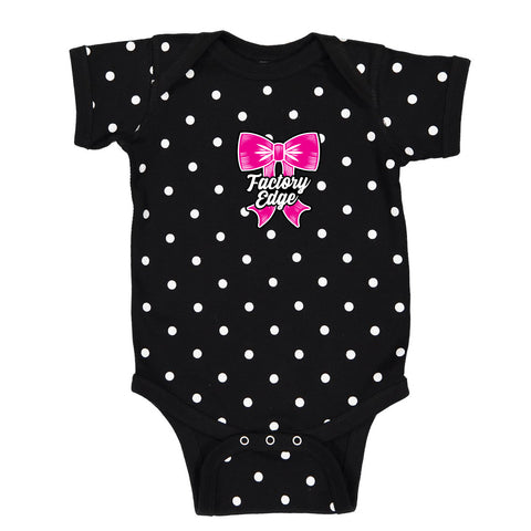 Factory Edge Infants Wings Onesie Black