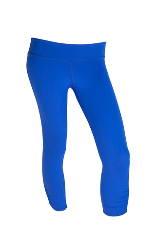 Blue Long Capri