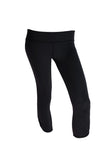 Black Long Capri