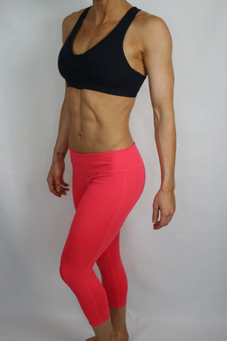 Electric Coral Long Capri