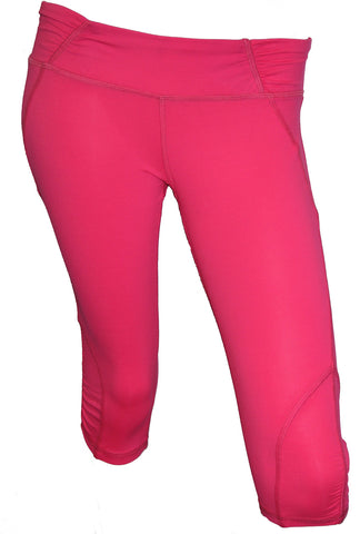 Hot Pink Luxe Capri