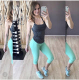 Mint Long Capri