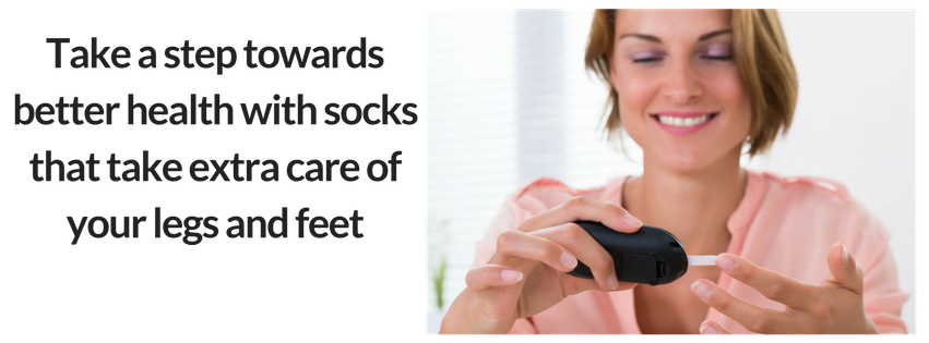 Take a step towards better health with TXG Diabetic Socks