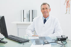 Doctor in a consultation with a patient