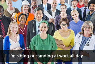 TXG Compression Socks for Standing or Sitting at Work All Day