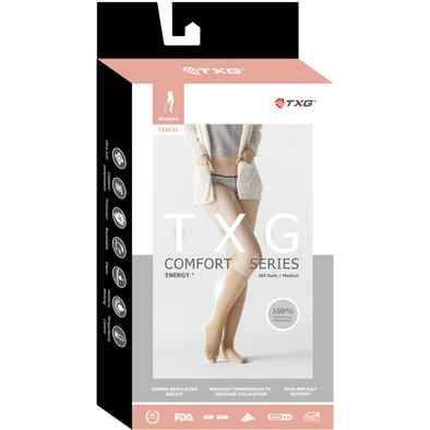 TXG Medical Compression Socks for Women - Comfort Range