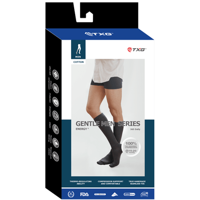 TXG Compression Stockings for Men - Gentleman's Range