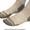 TXG diabetic compression socks have a unique 3-D toe cage and heel cage which provides extra room and durability