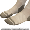 TXG diabetic compression socks have a mesh like panel which keeps your feet cool
