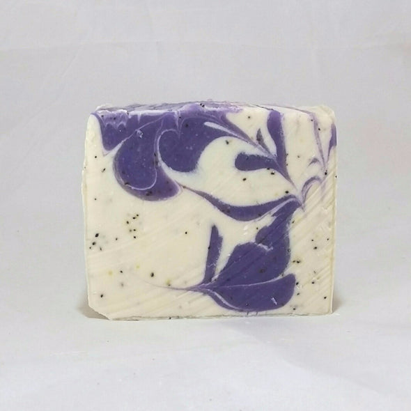 Ohana Soaps Blueberry Scrub Soap is a mens' favorite. It smells just like just-picked, sweet juicy blueberries from the farm. We've often been told that once men try this soap they say they will never use any other kind.