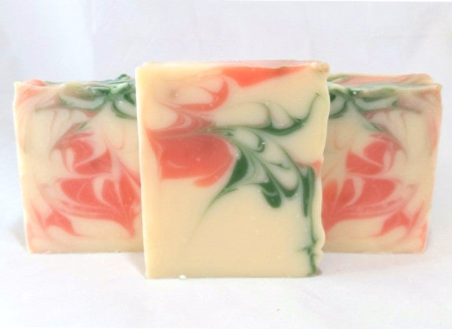 It's about thyme. Boost your well-being with Ohana Soaps Orange & Thyme soap, a refreshing summer blend of citrus, honeysuckle, orange blossom and fresh thyme that is both beautiful to look at and oh so good for your skin.