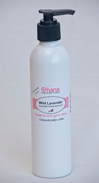 Wild Lavender Lotion With Shea Butter