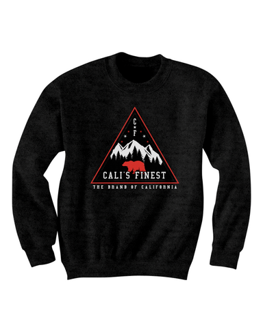 Cali's Finest Crewneck - Black