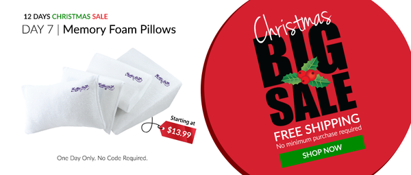 Furinno's memory foam pillows